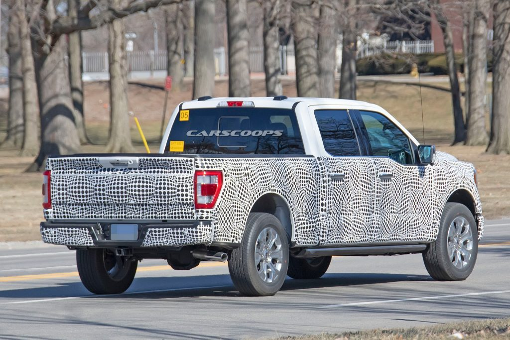 2021 ford f150 prototype spy 8