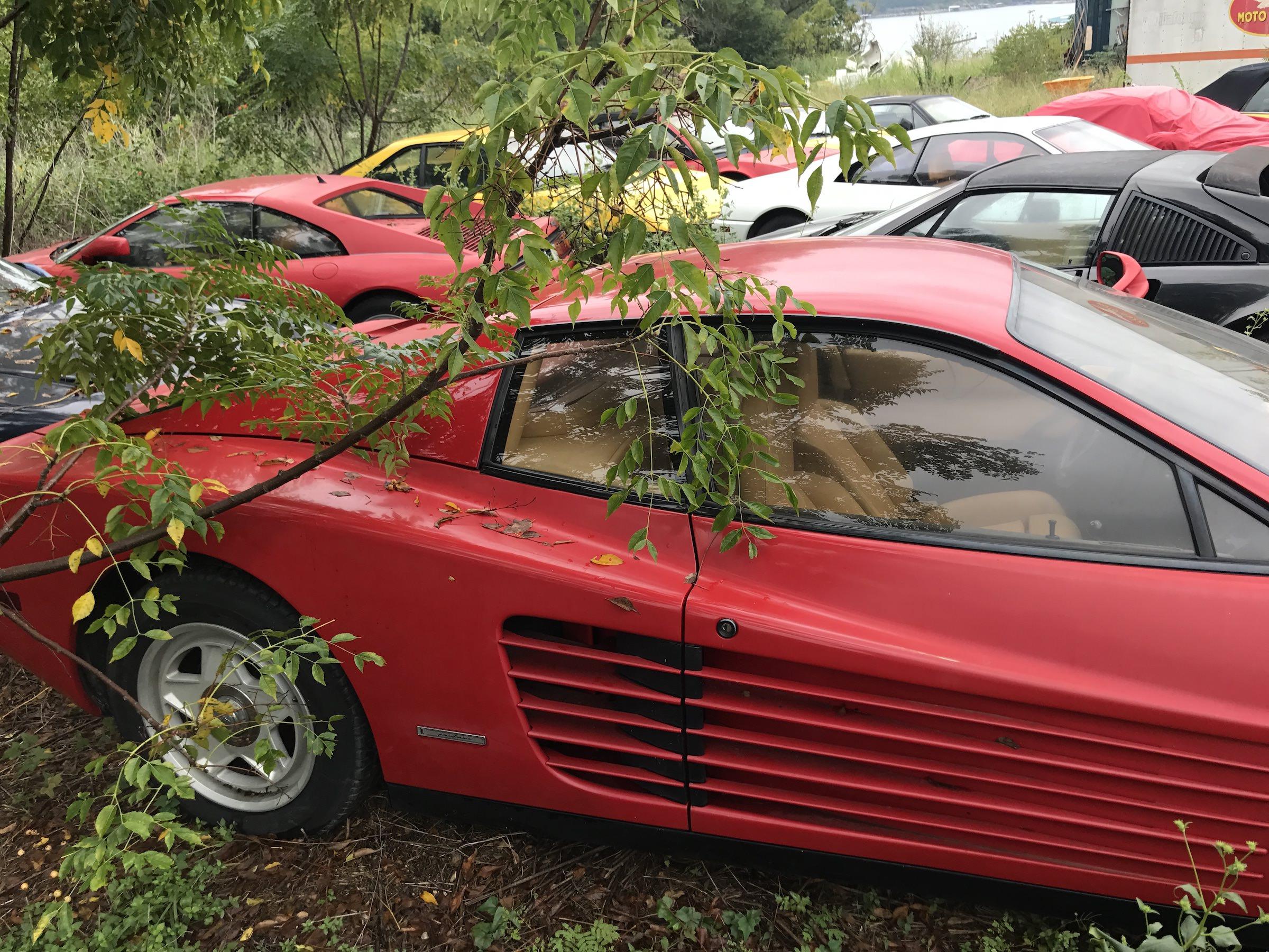 Abandoned Ferrari Testarossa 3