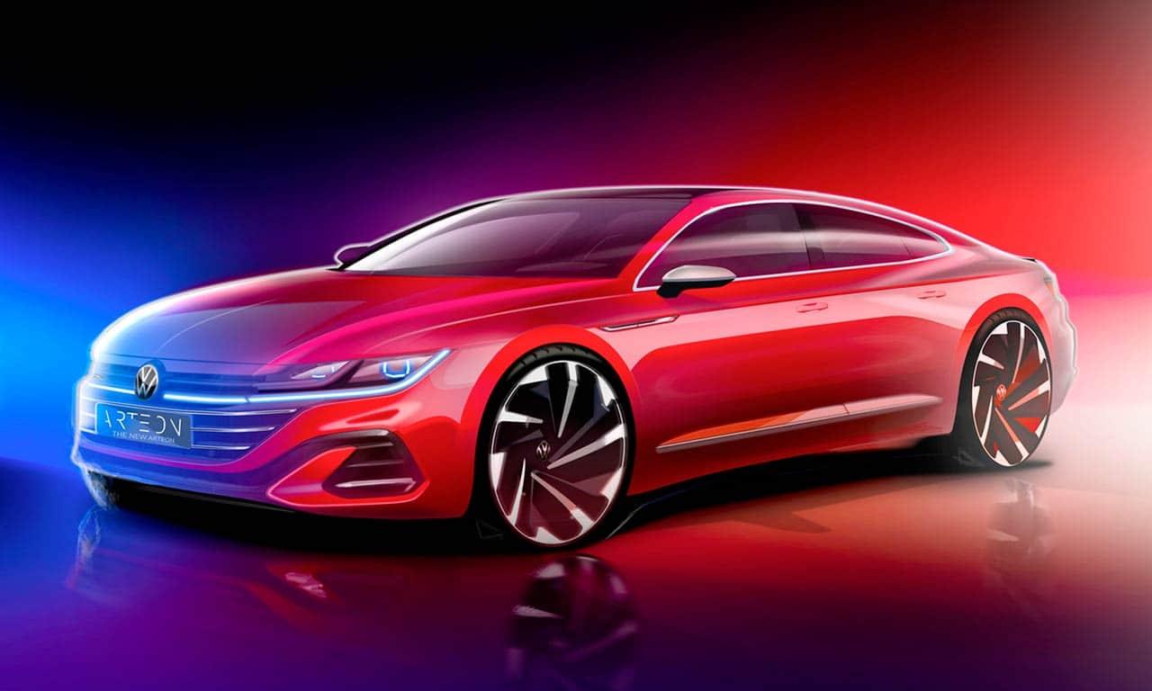 VW Arteon facelift