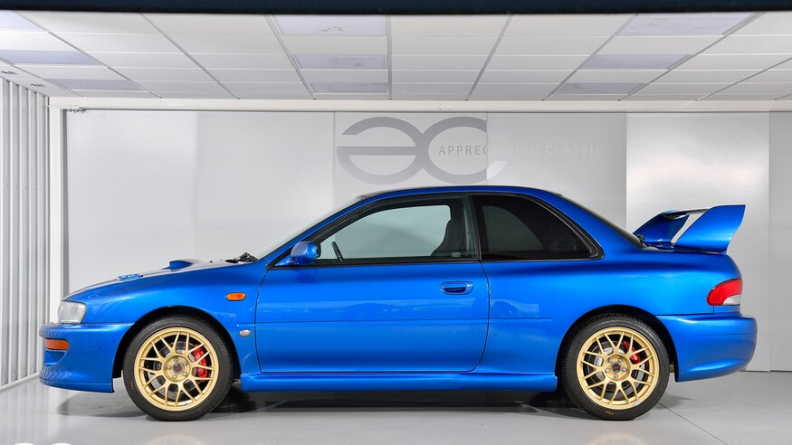 1998 Subaru Impreza 22B 7