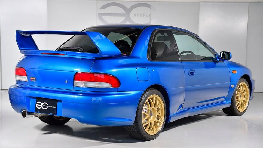 1998 Subaru Impreza 22B 8