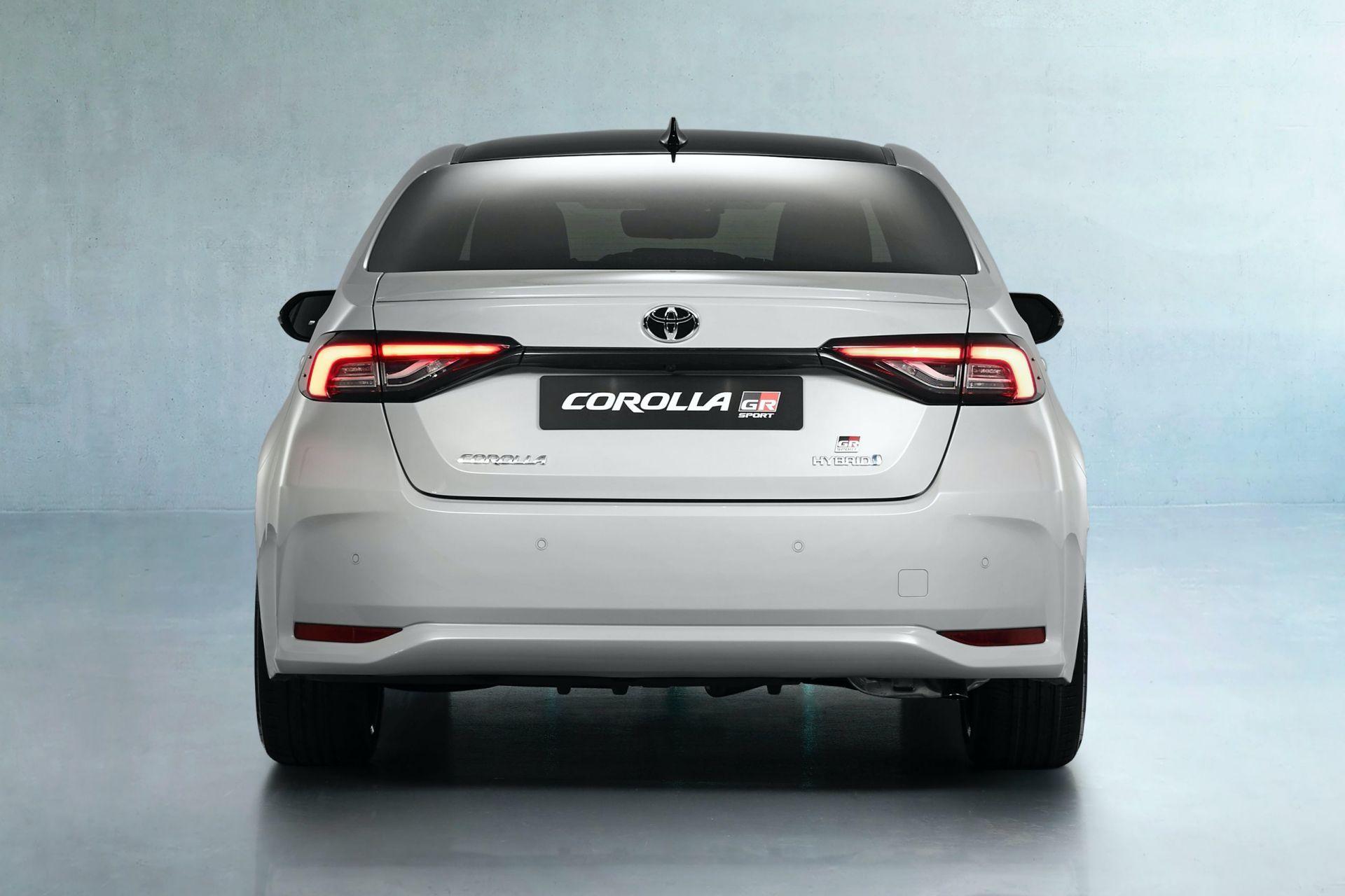 2021 Toyota Corolla Sedan GR Sport European spec 13