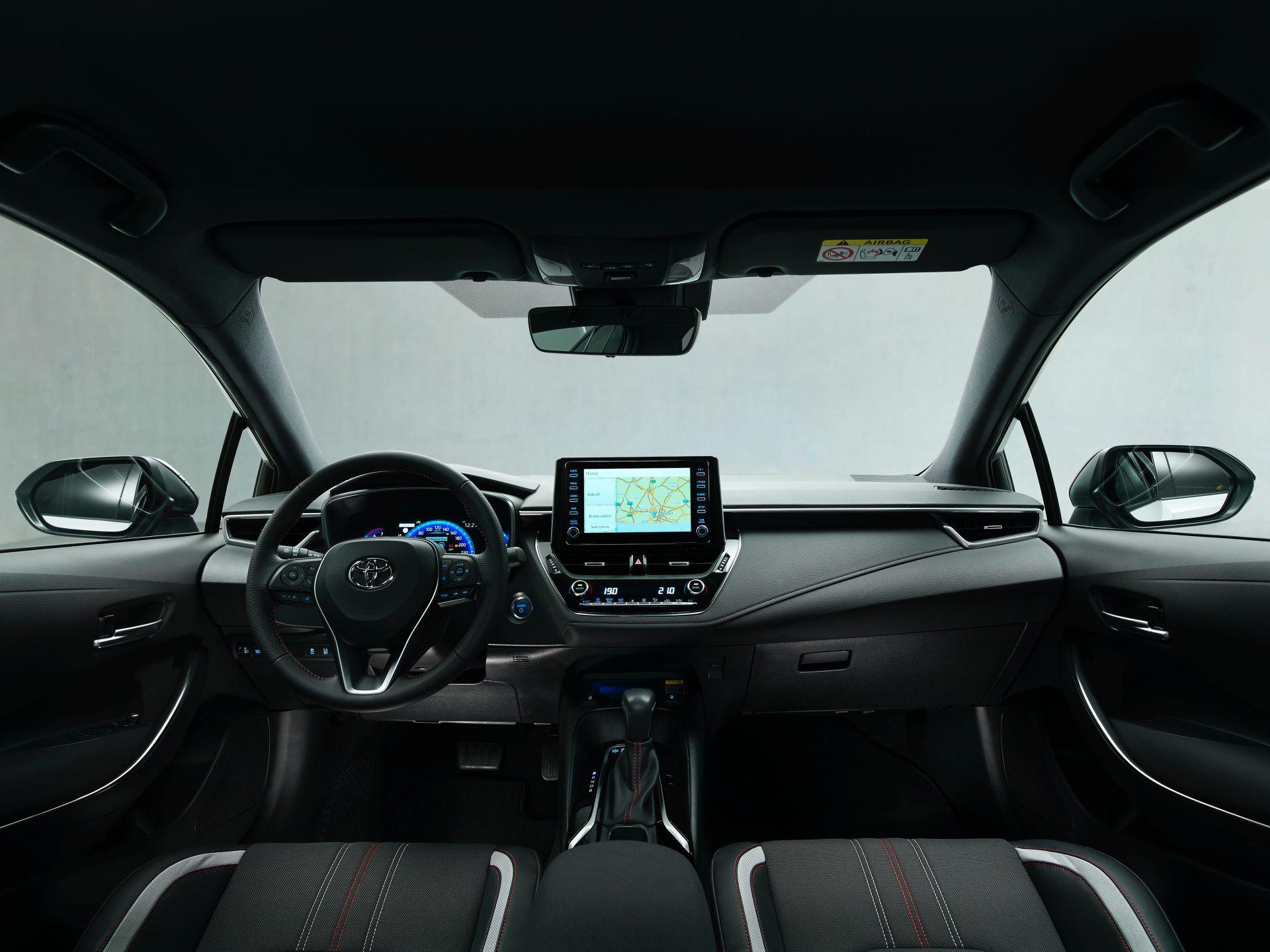 2021 Toyota Corolla Sedan GR Sport European spec 5