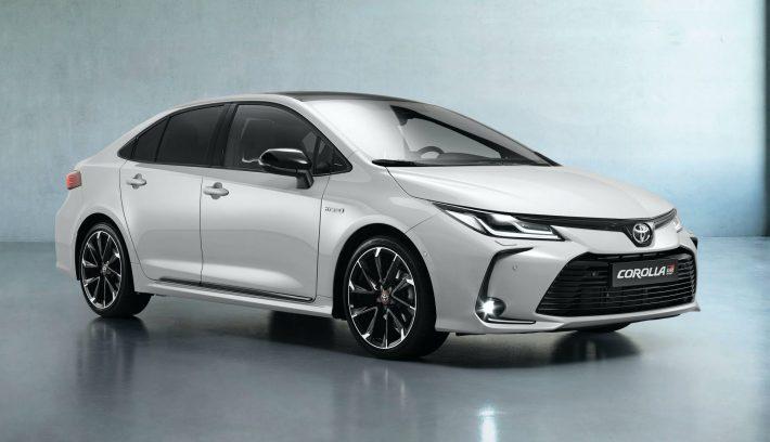 2021 Toyota Corolla Sedan GR Sport European spec 8