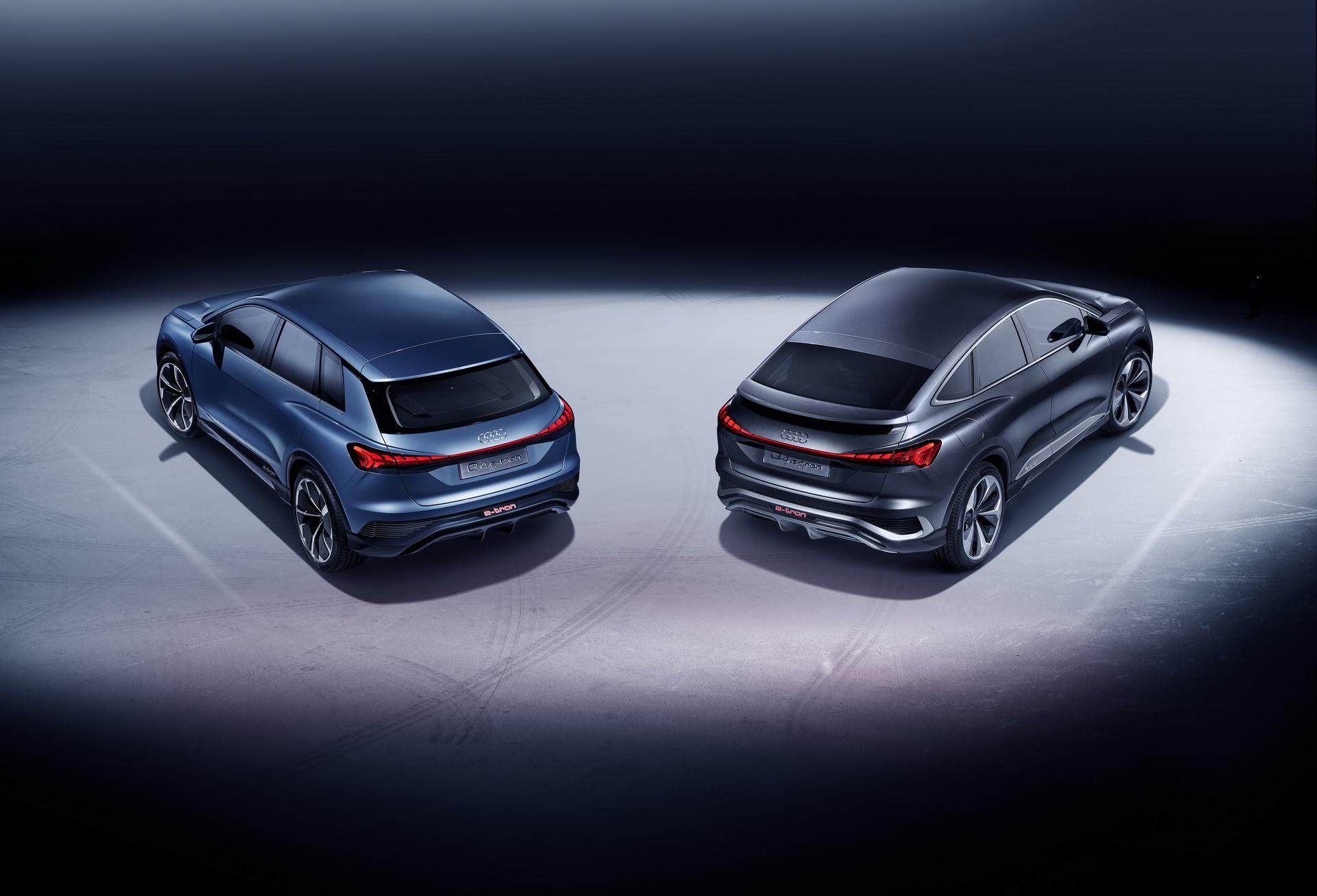 Audi Q4 e tron Sportback Concept 17
