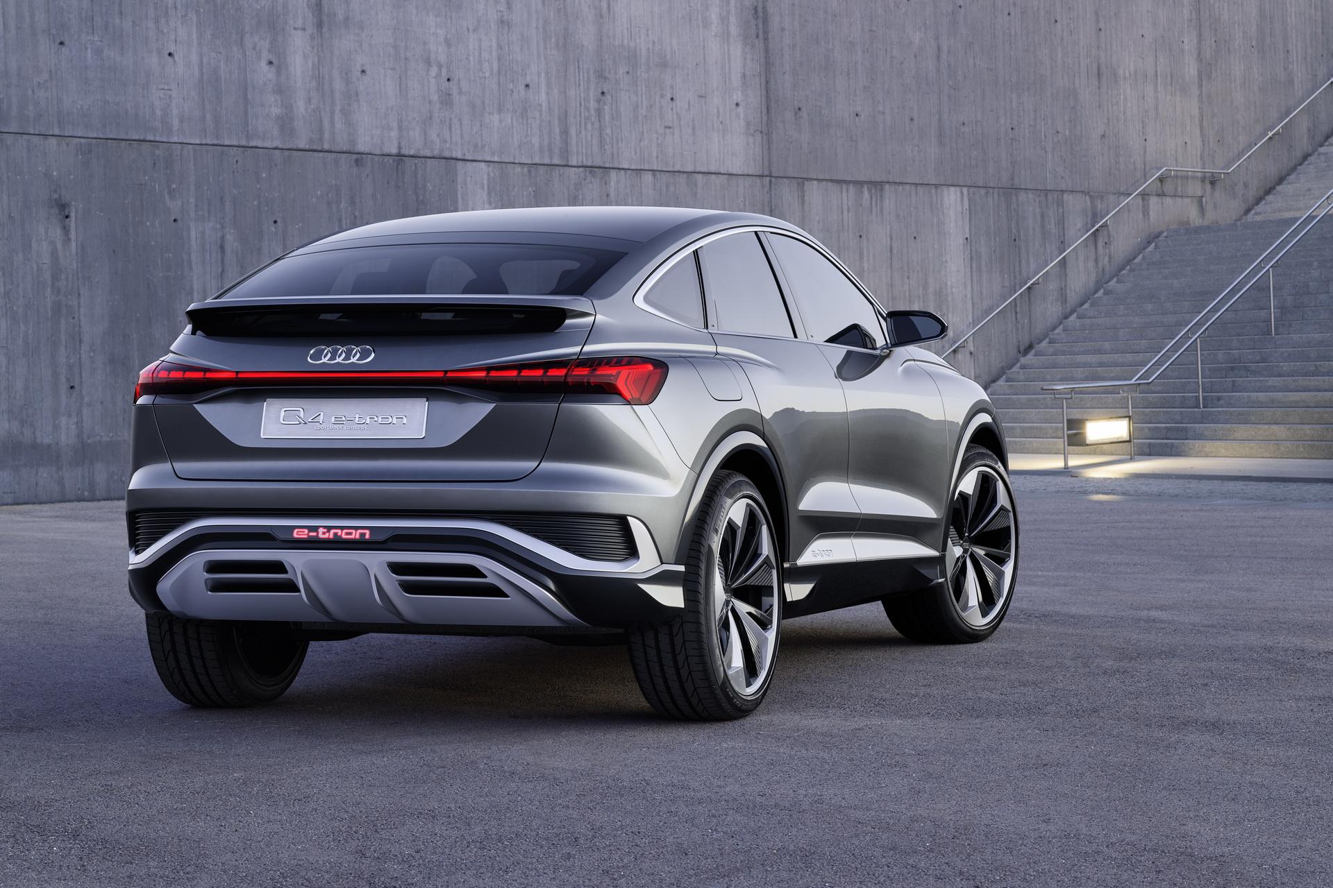 Audi Q4 e tron Sportback Concept 28