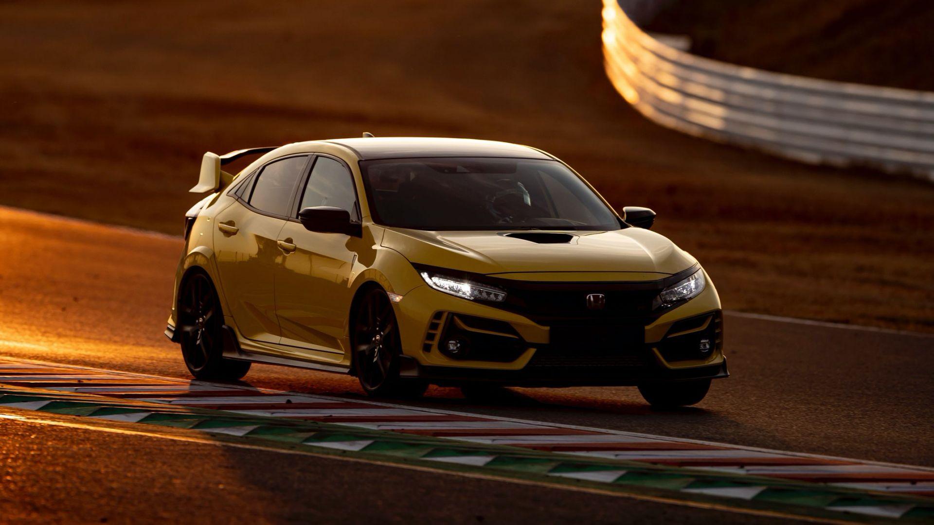 Honda Civic Type R Limited Edition sets new Suzuka lap record 1