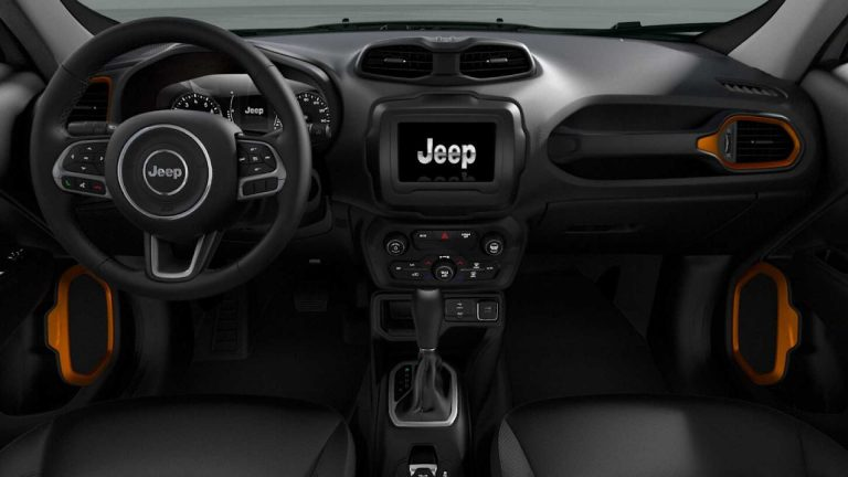 Jeep Renegade Orange Edition 13