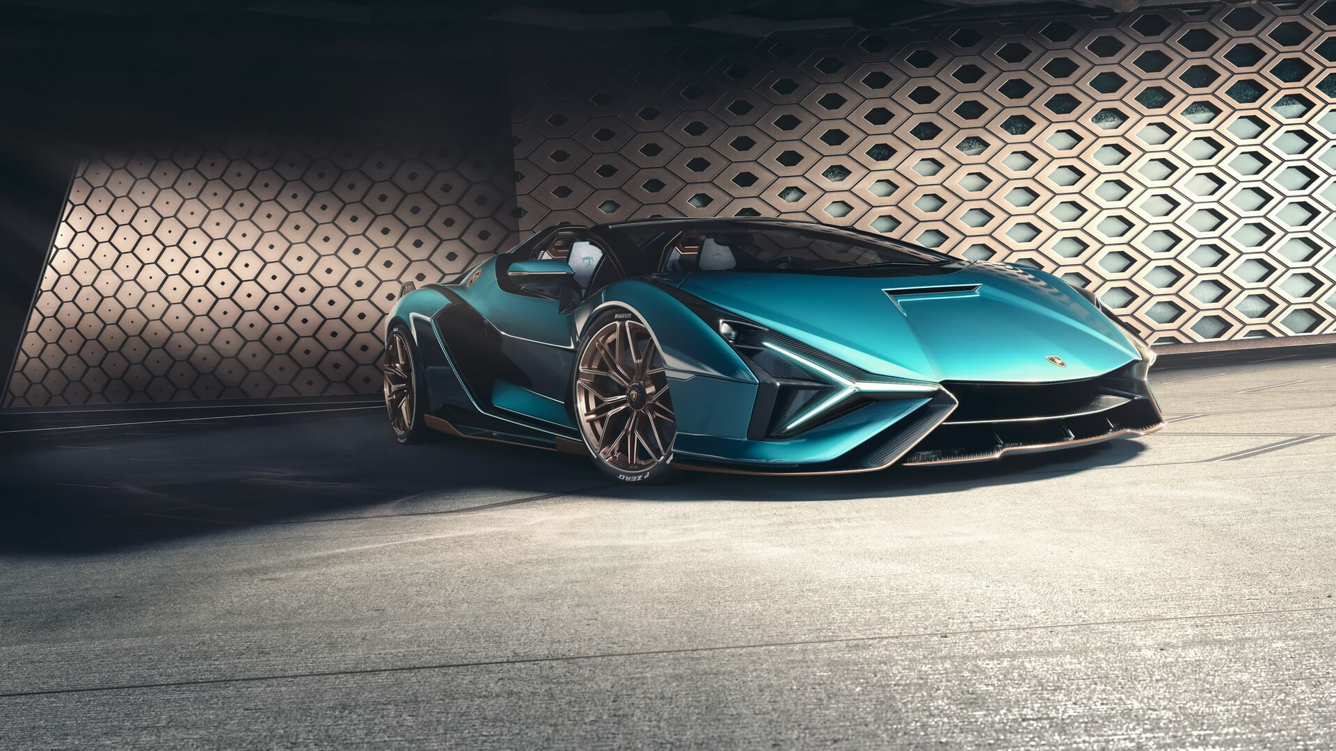 Lamborghini Sian Roadster 4 1