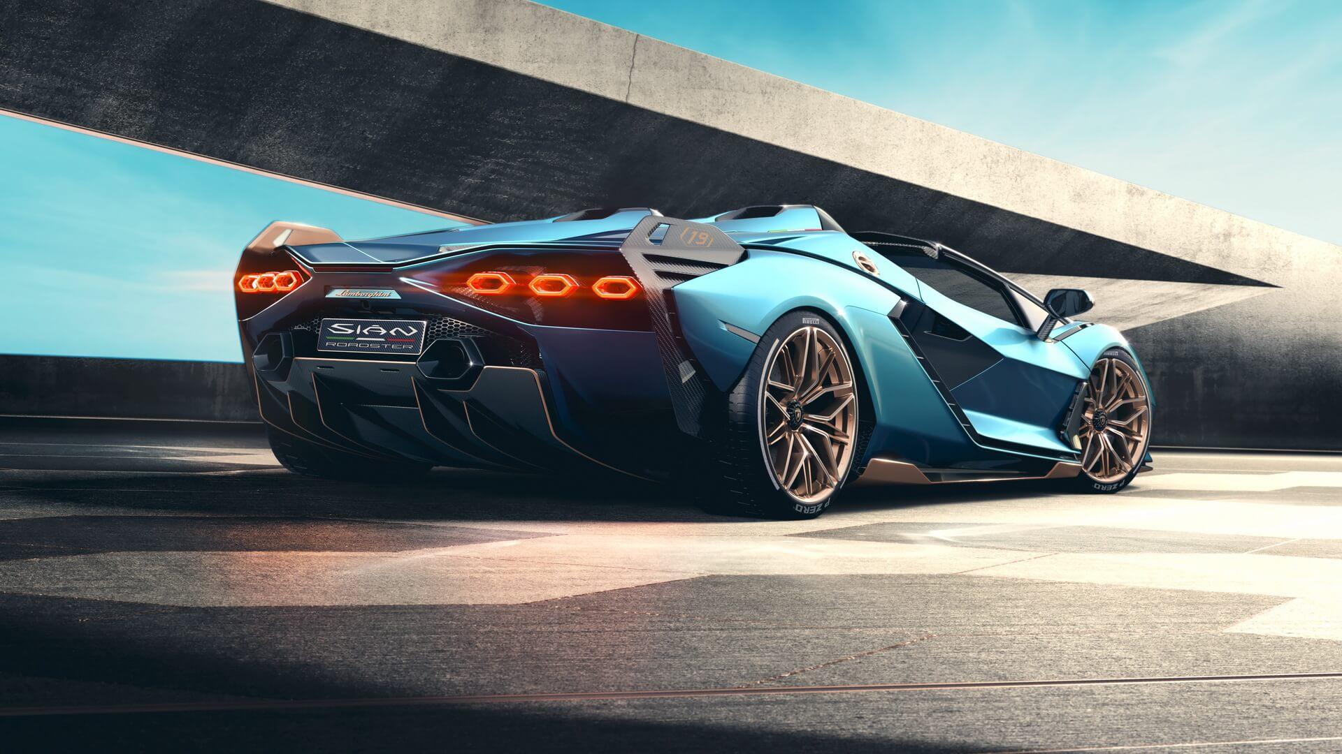 Lamborghini Sian Roadster 7 1