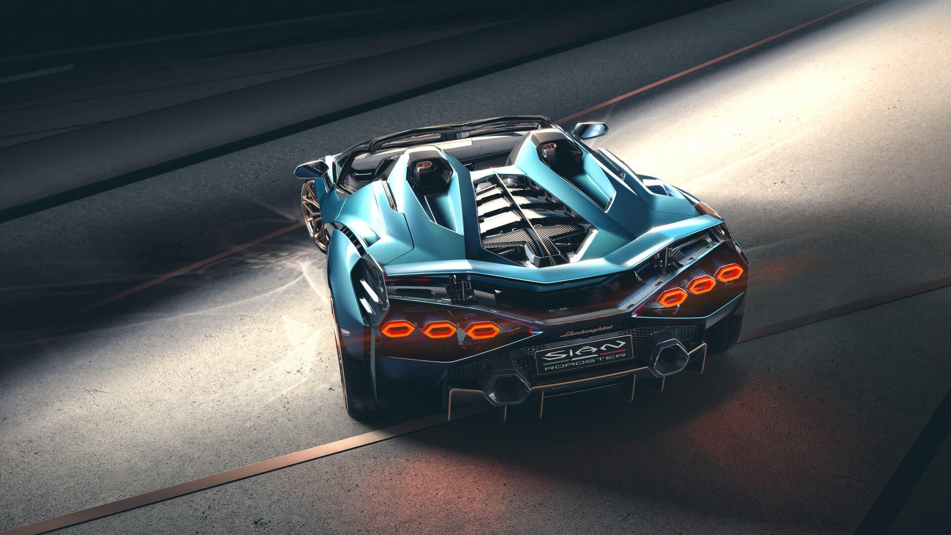 Lamborghini Sian Roadster 8 1