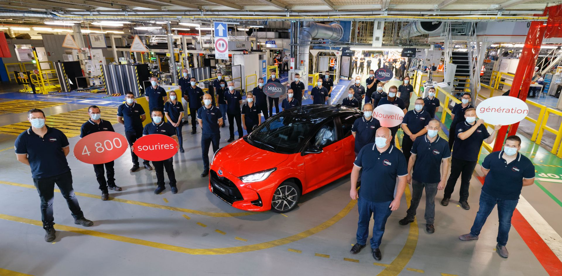 New Toyota Yaris enters production in France 1