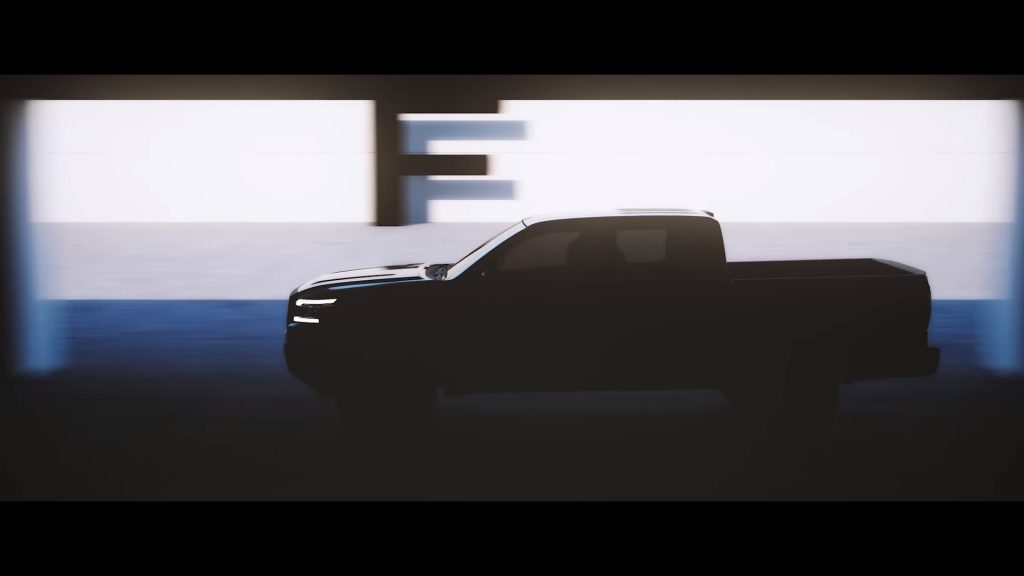 Nissan Frontier Teaser