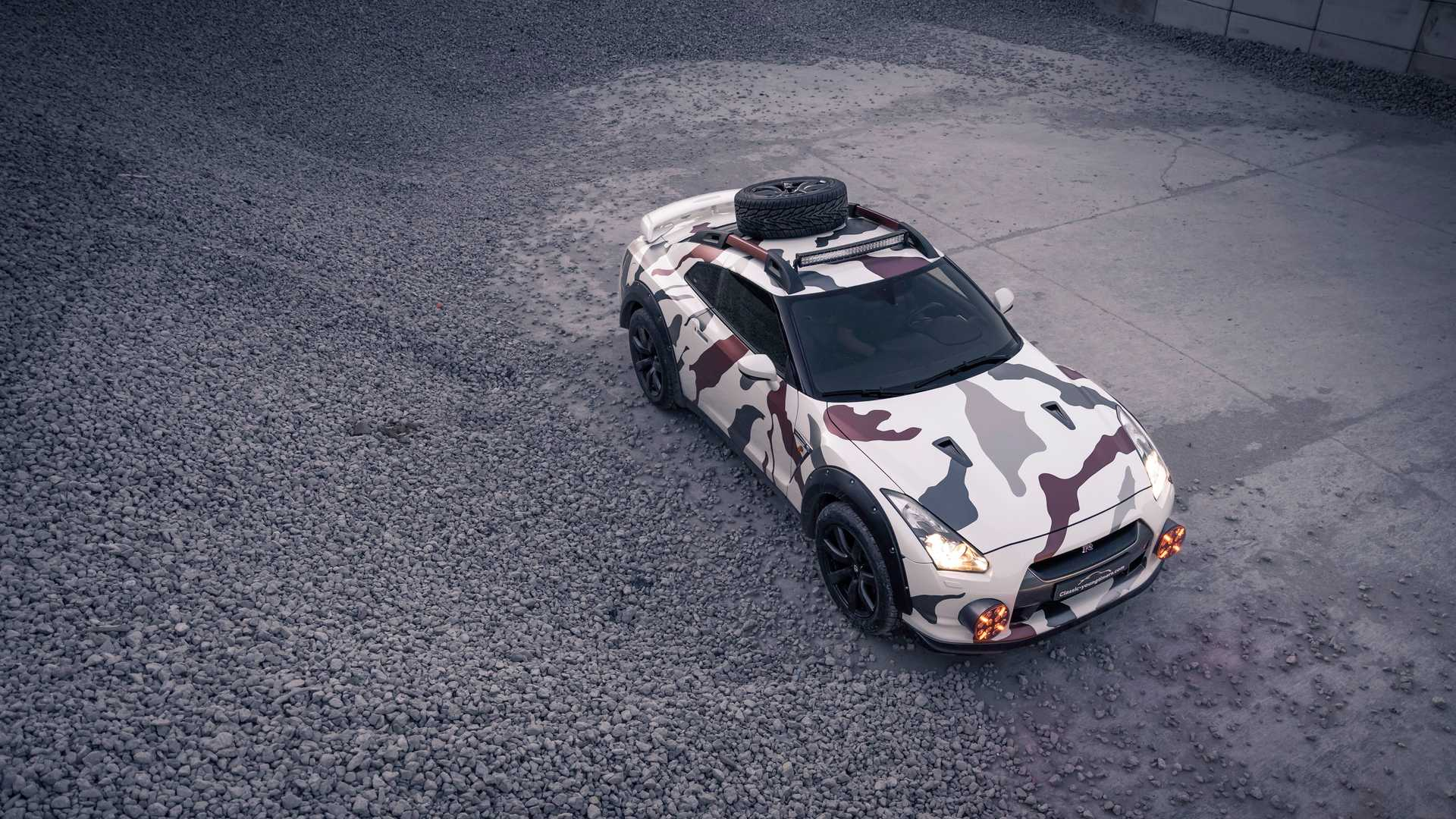 Nissan GT R Off Road 2