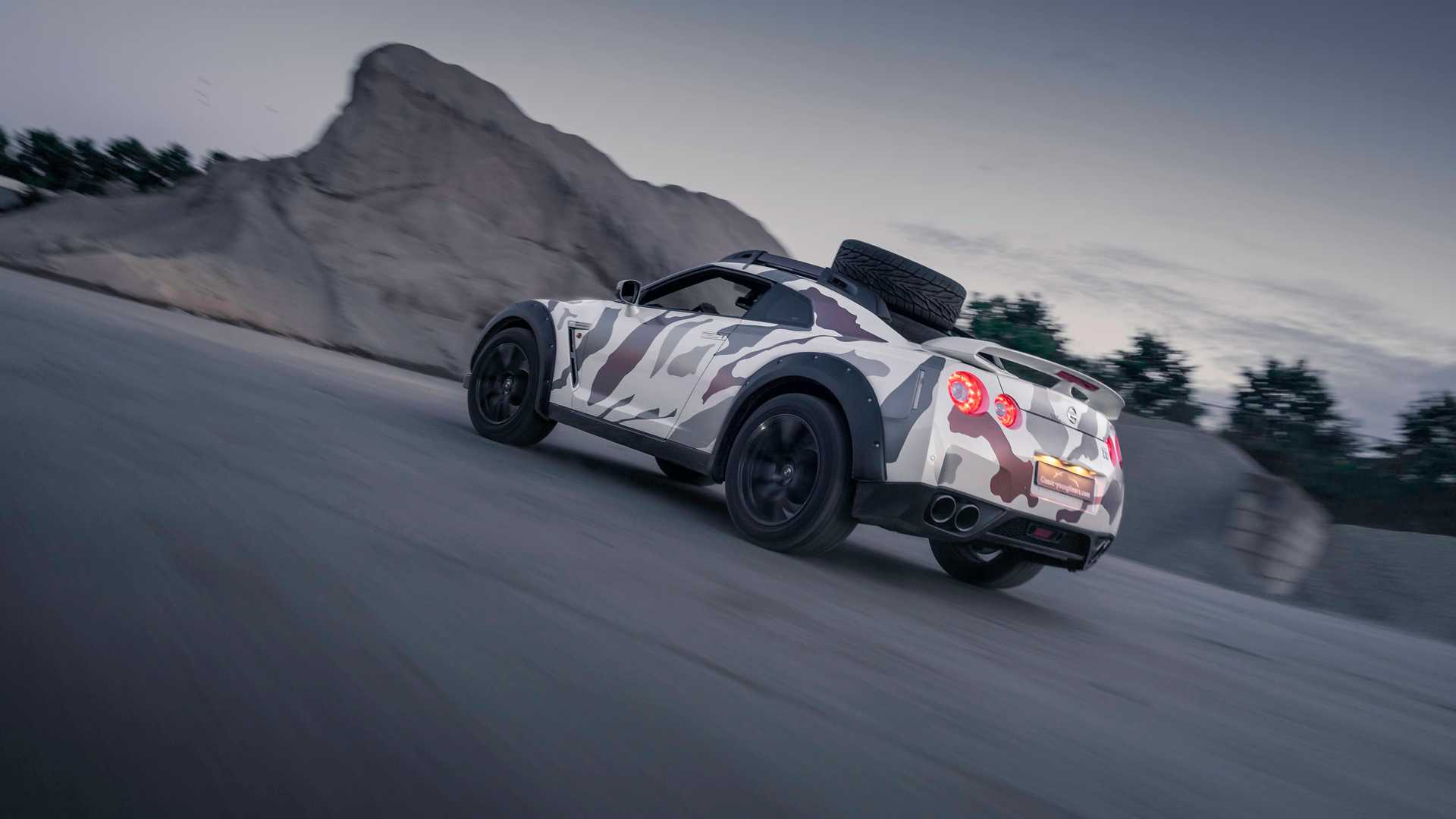 Nissan GT R Off Road 3