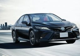 2020 Toyota Camry Black Edition JDM spec 17