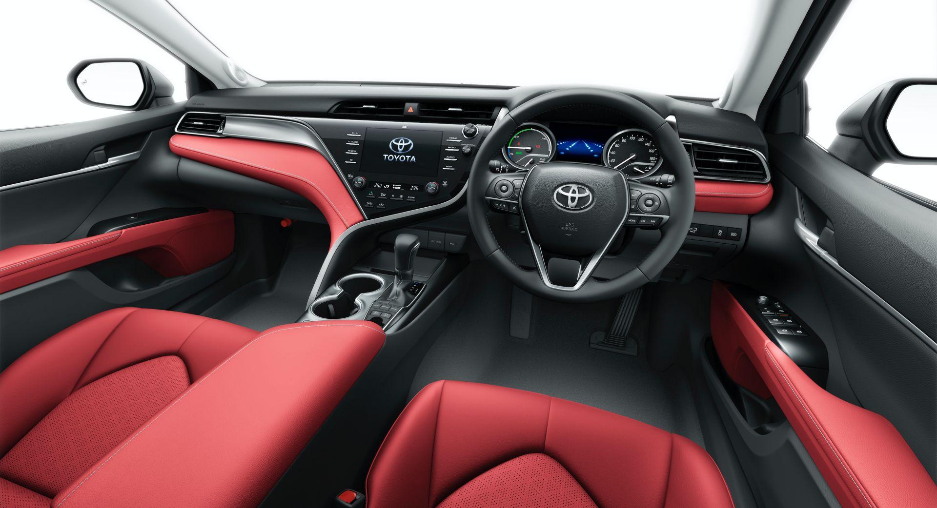 2020 Toyota Camry Black Edition JDM spec 8