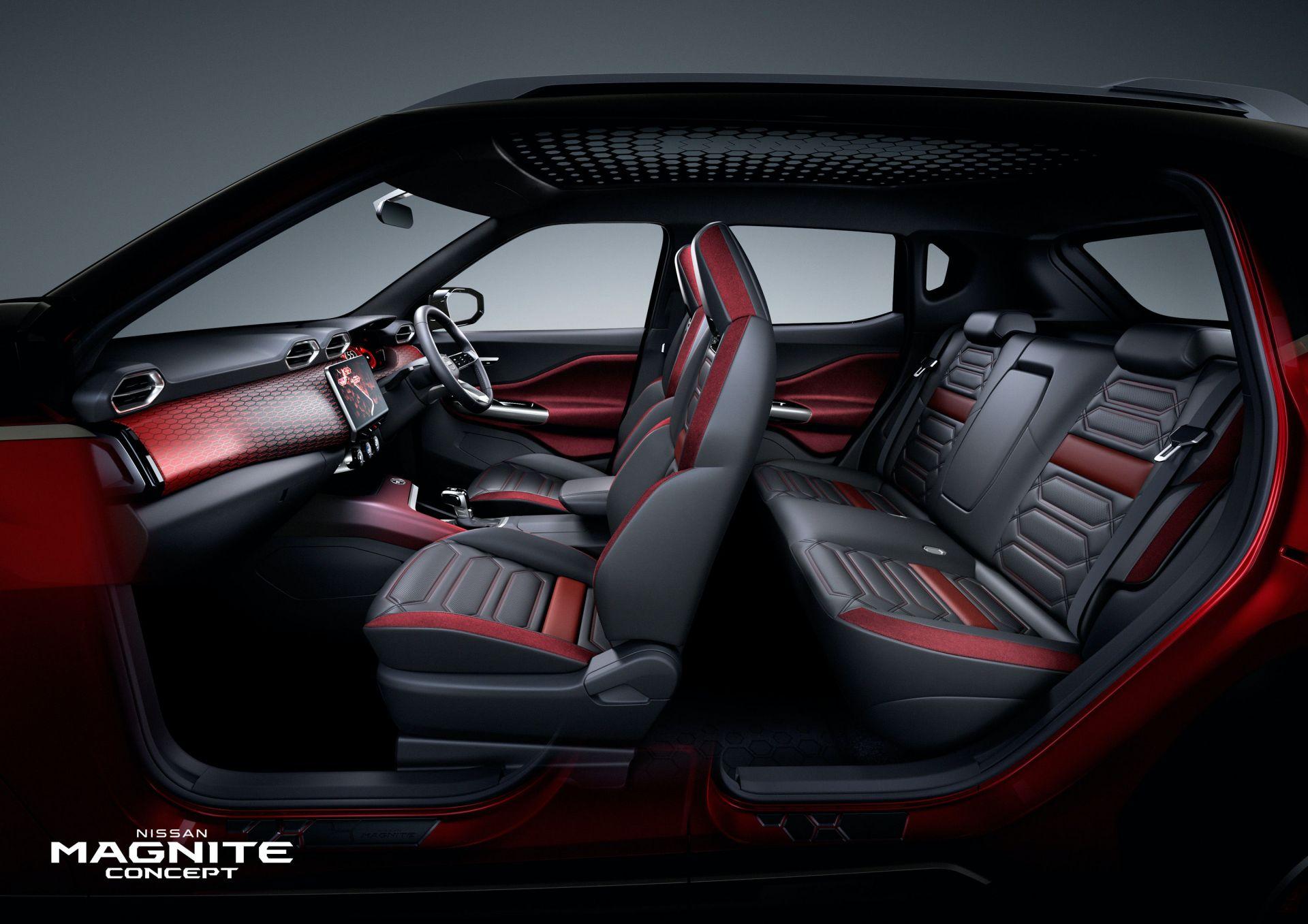 Nissan Magnite Concept interior 1 1