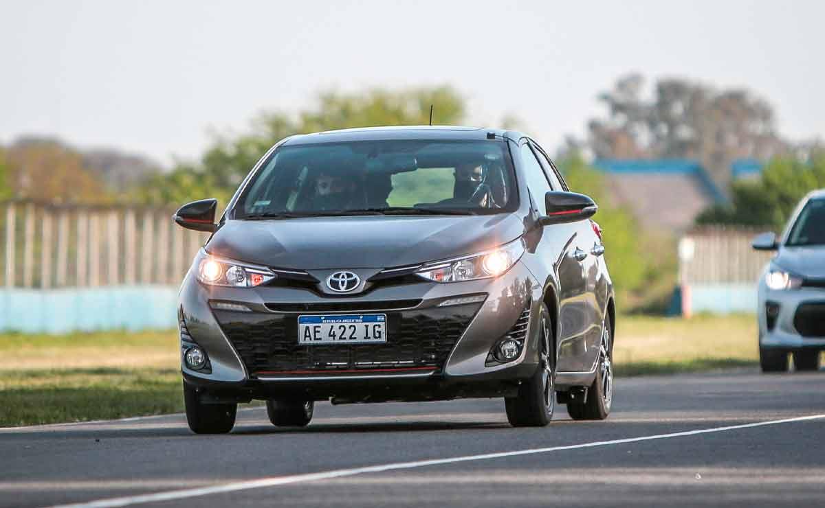 Toyota Yaris segmento B