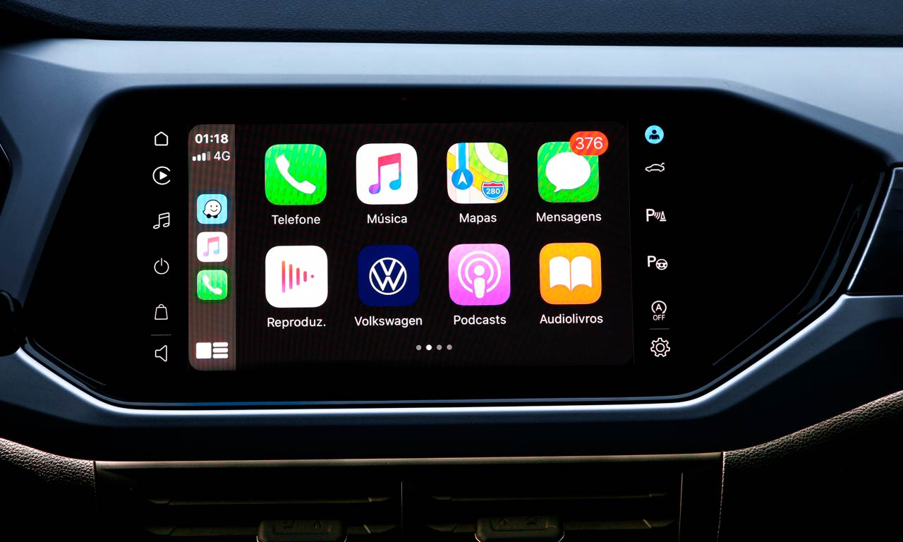 La nueva VW T-Cross 2021 contará con una pantalla de 10,1 pulgadas sin comandos físicos