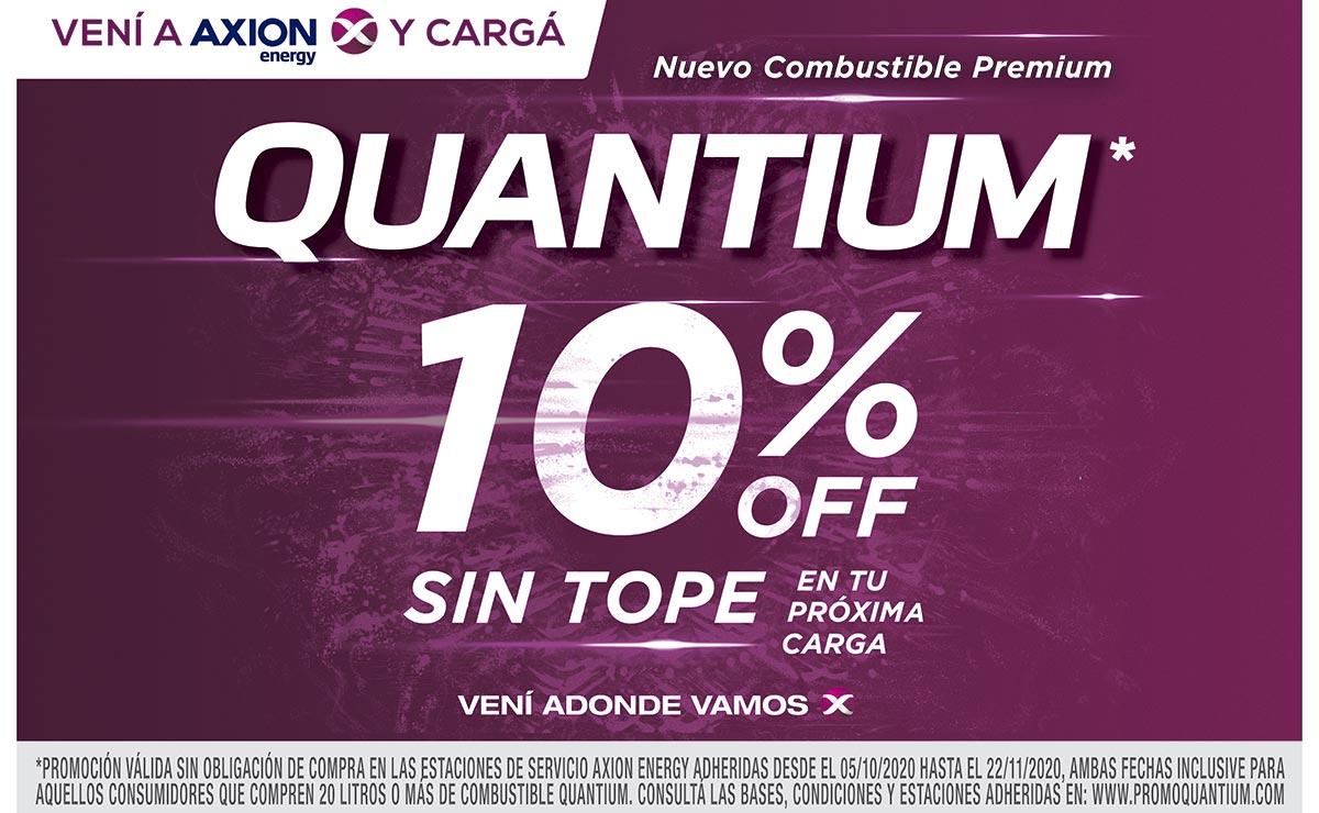 Axion Energy Quantium