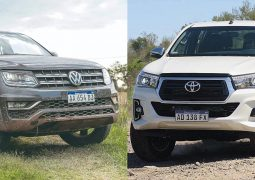 VW AMAROK VS TOYOTA HILUX