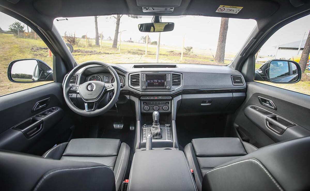 Volkswagen Amarok-interior