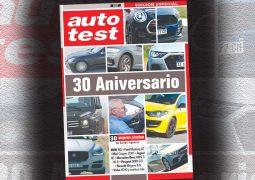 auto test 30 aniversario