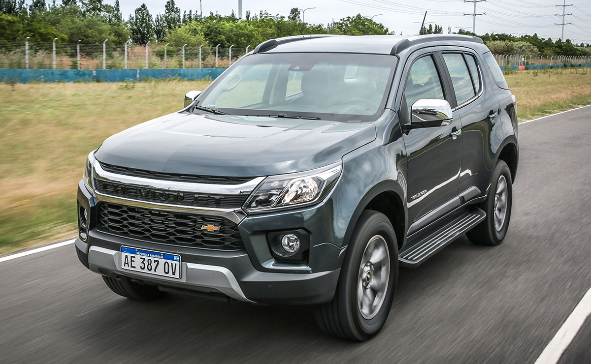 CHEVROLET TRAILBLAZER 5 1