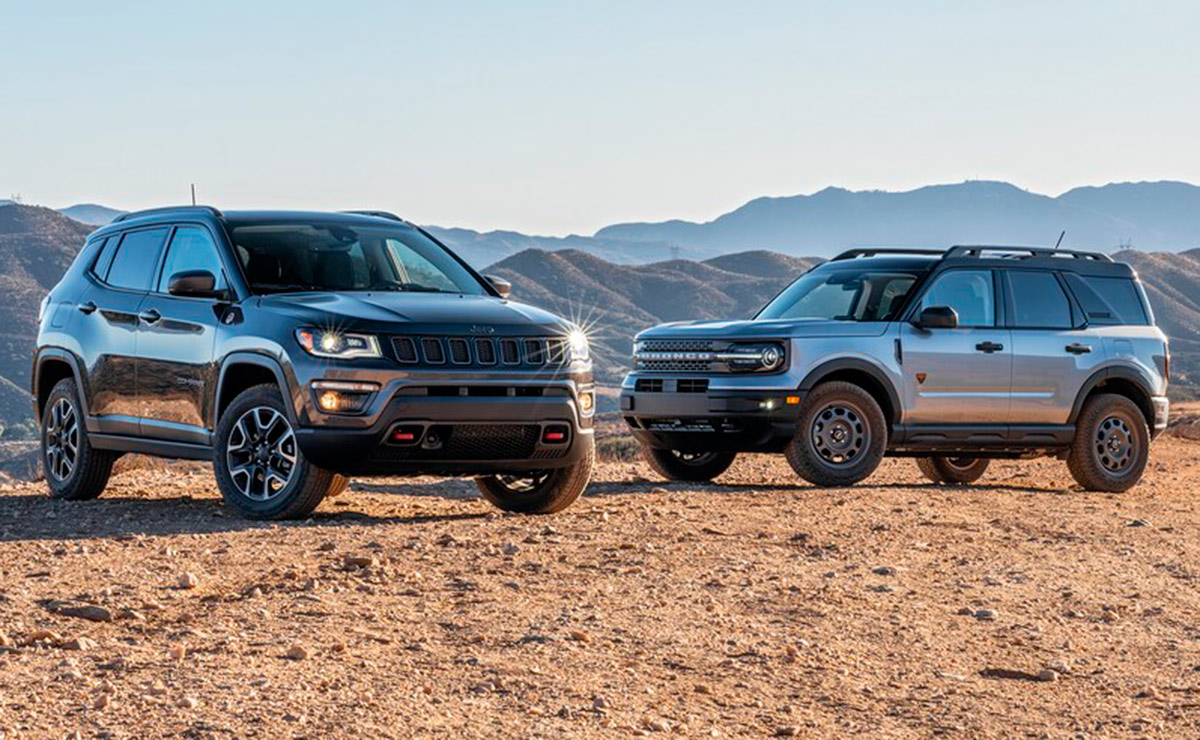 FORD BRONCO SPORT O JEEP COMPASS 1