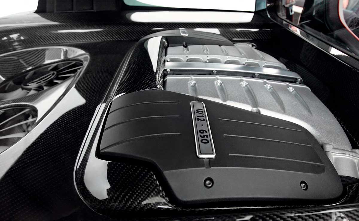 VOLKSWAGEN GOLF GTI W12 MOTOR