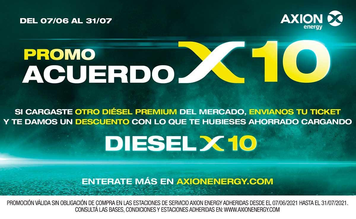 Axion energy promo