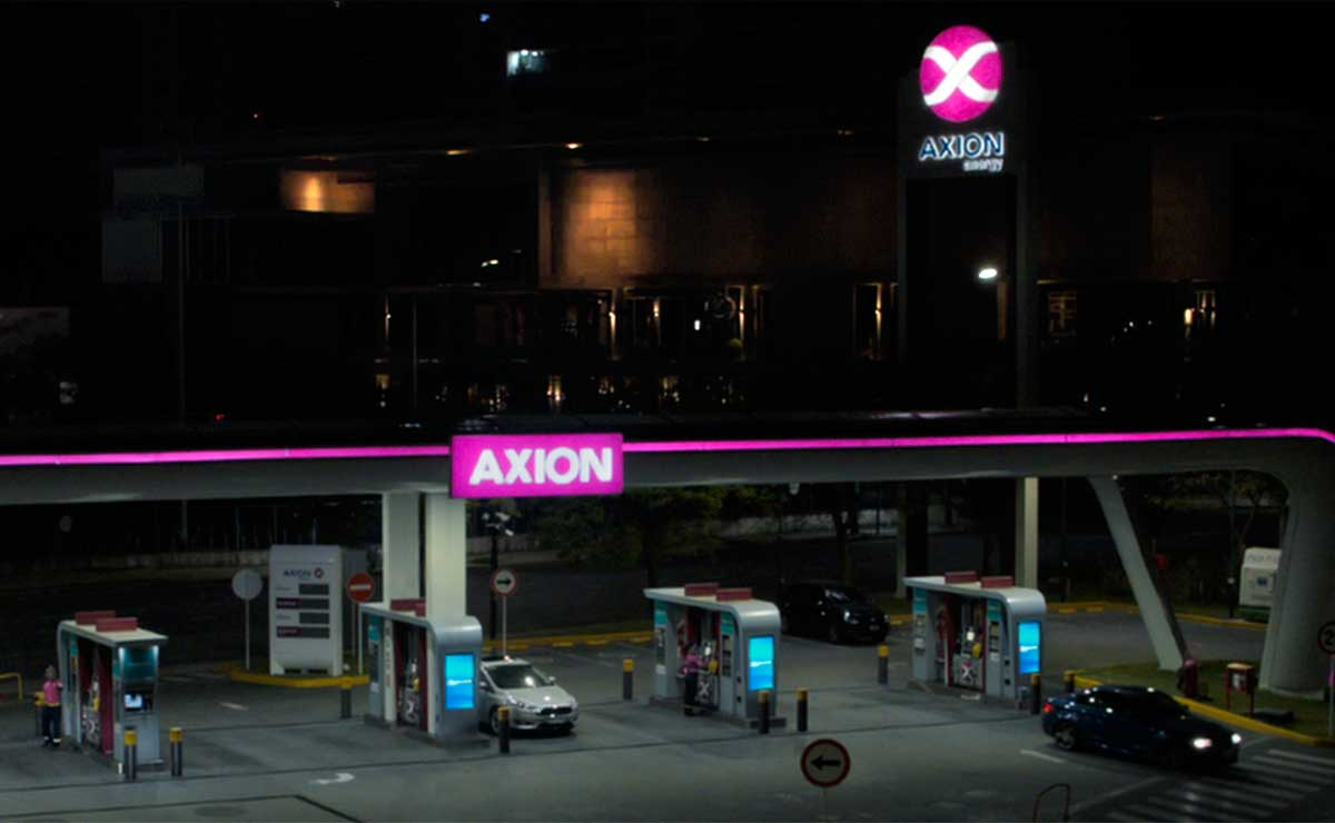 Axion energy estacion