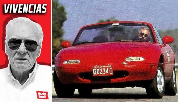 Mazda Miata derrapando