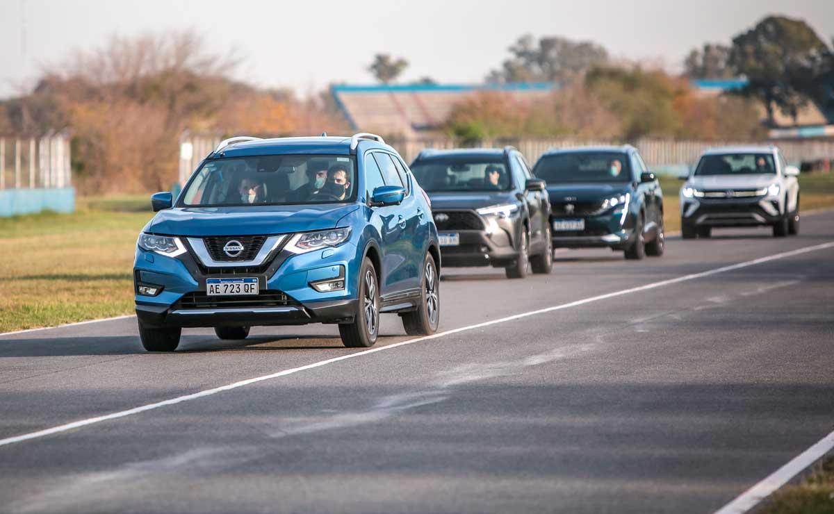 Nissan X-Trail trompa y rivales