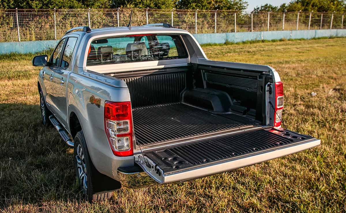 ford ranger caja de carga