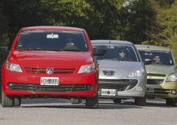 Comparativo VOlkswagen Gol Trend Peugeot 207 Chevrolet Agile