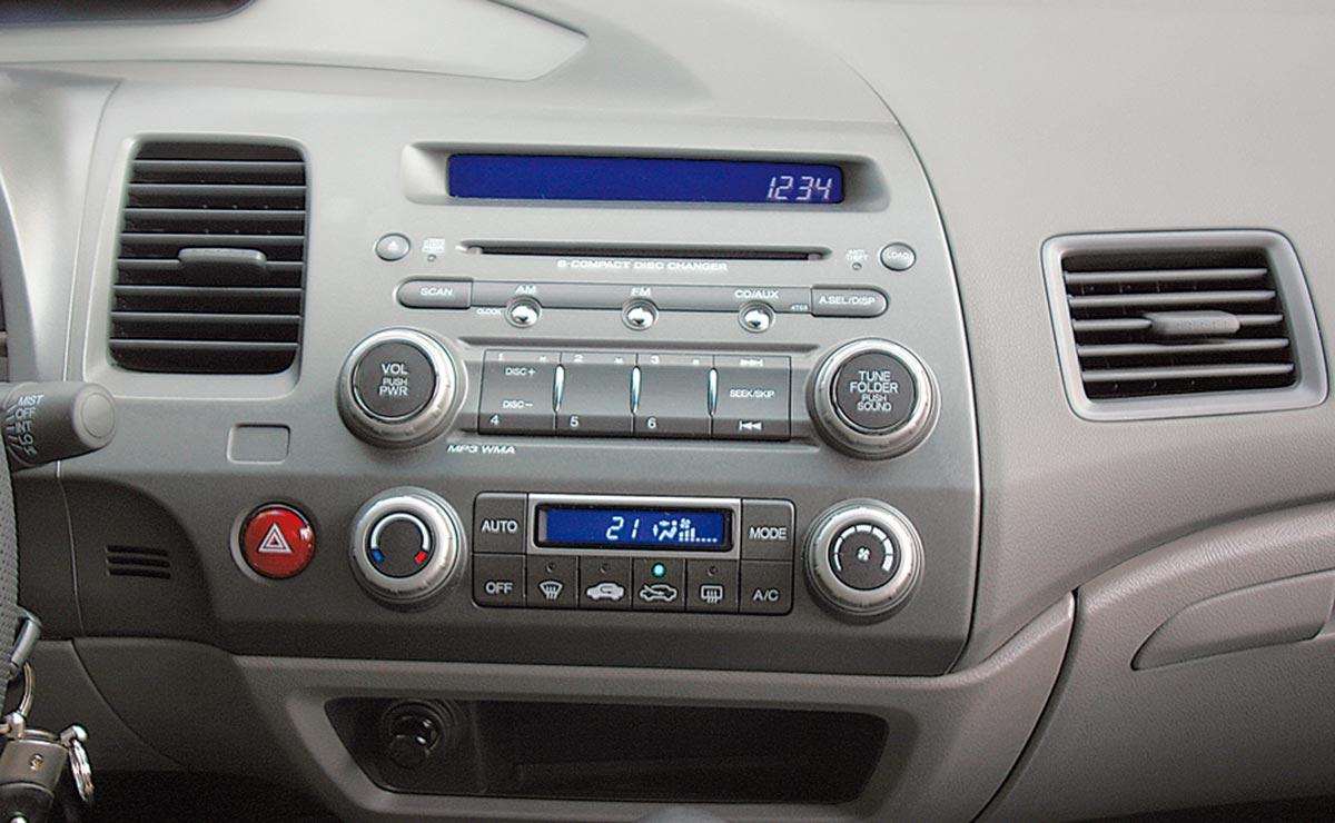Honda Civic consola