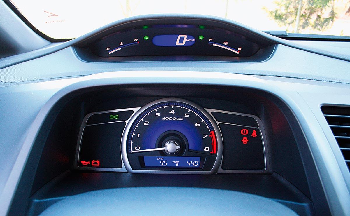 Honda Civic tablero