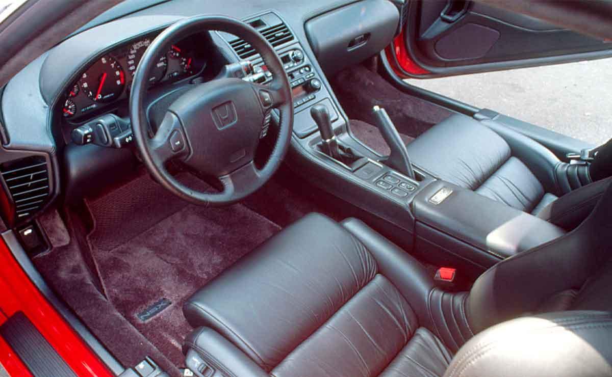 Honda-NSX-interior