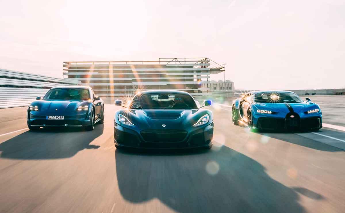 Rimac-Bugatti-Porsche