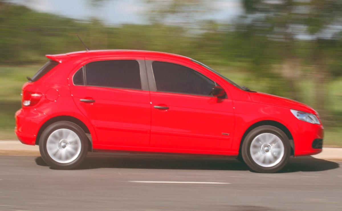 Volkswagen Gol Trend lateral