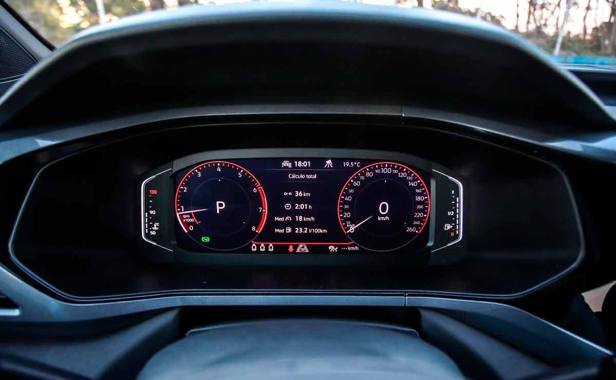 Volkswagen-Taos-instrumental