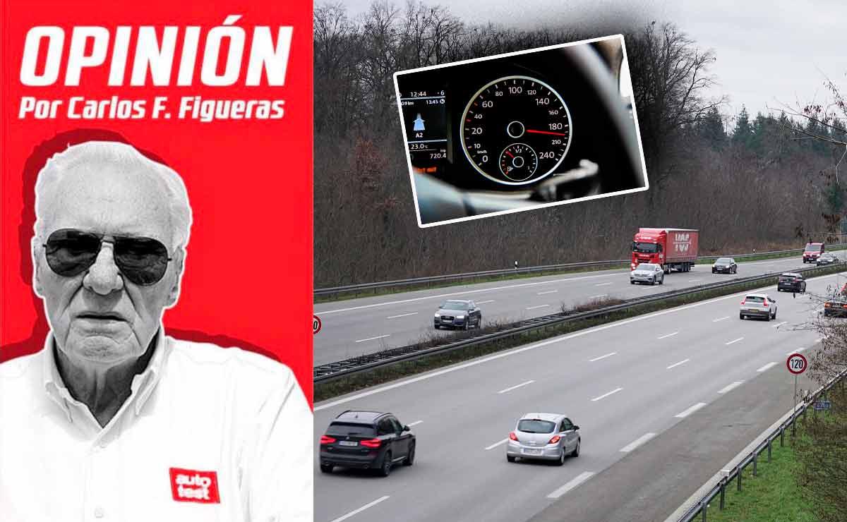 autopistas alemanas limite de velocidad