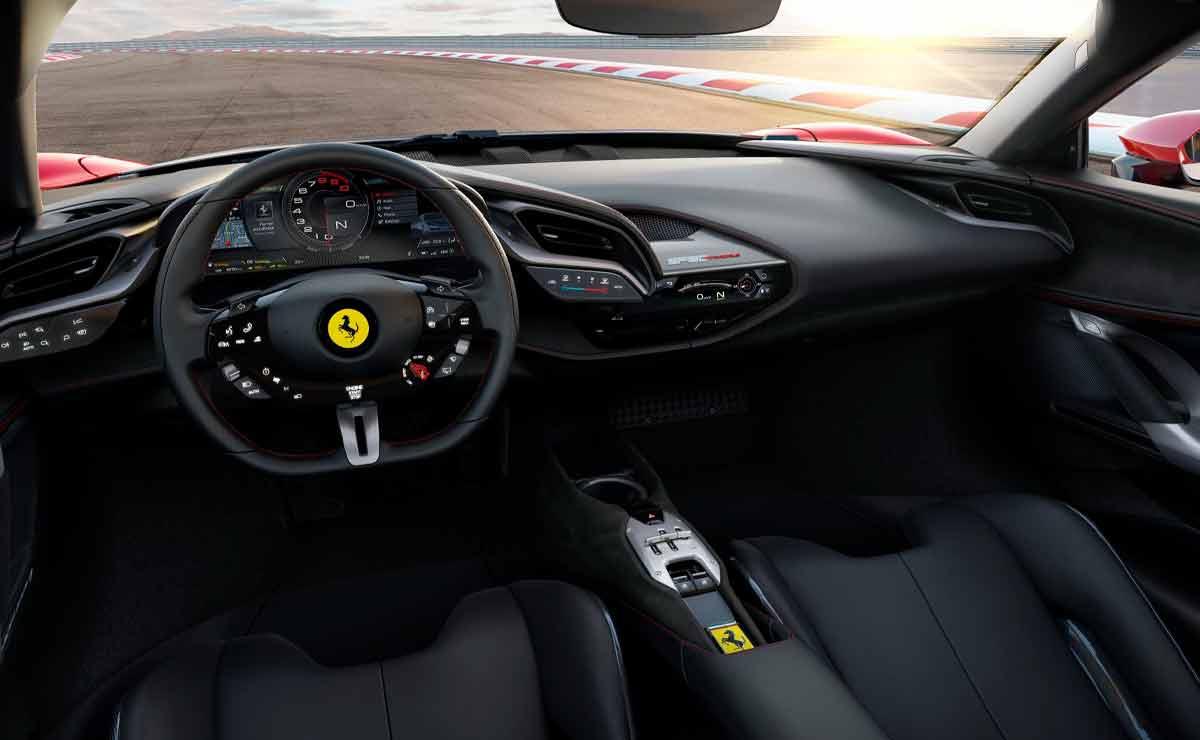 Ferrari-SF90-interior