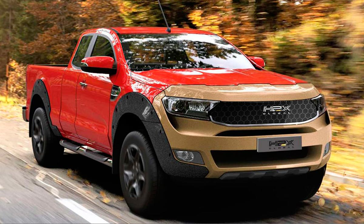 H2X Global Ford Ranger 1