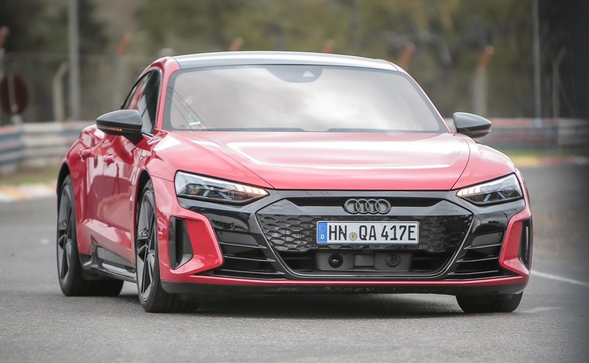 Audi RS e Tron GT frente