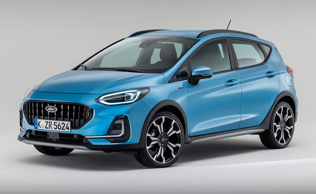 FORD FIESTA ACTIVE 2022 FRENTE