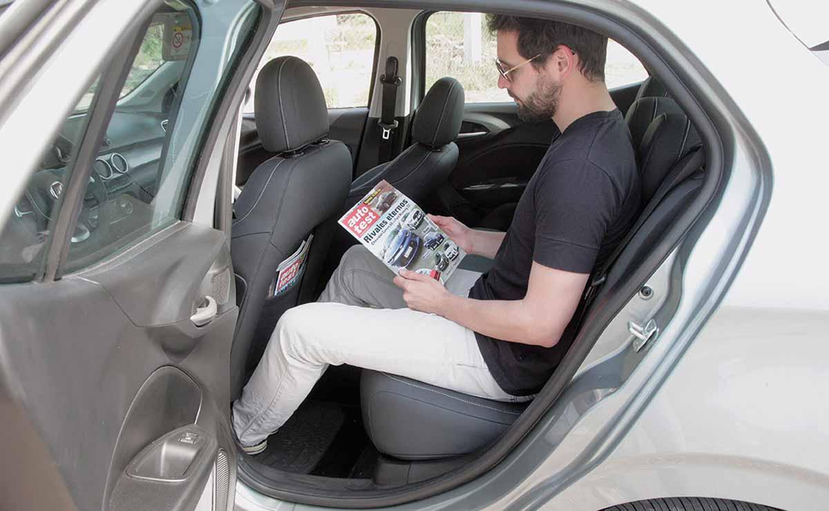 Fiat Argo Precision Pack Premium habitabilidad