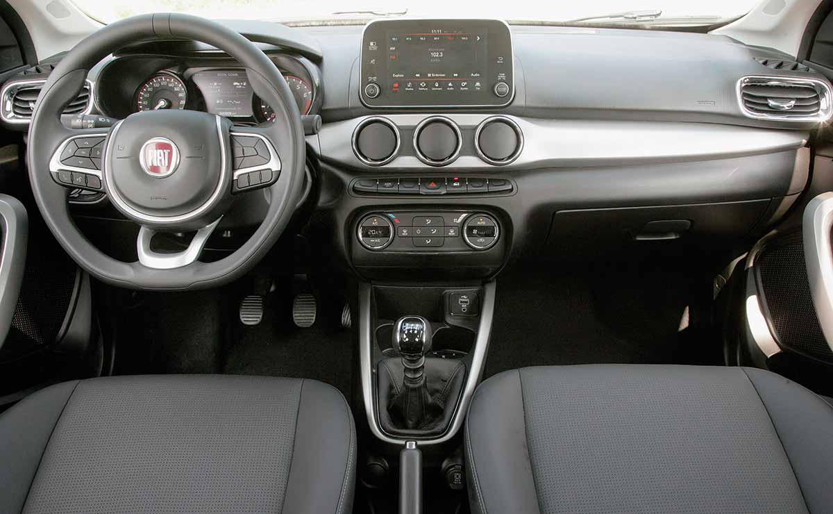 Fiat Argo precision interior
